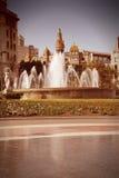 Retro Barcelona Stock Photos