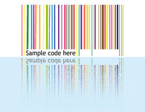 Retro barcode Stock Photo