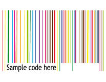 Retro barcode Royalty Free Stock Photo
