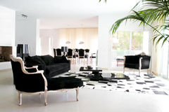 Free Retro Baroque Interiors Stock Photography - 5555602