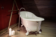 Retro bath Stock Images