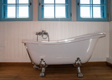 Retro bath Royalty Free Stock Image