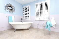 Retro bathtub Royalty Free Stock Photos