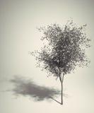 Retro- Baum der Kunst Stockfotografie