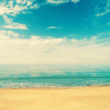 Retro Beach Royalty Free Stock Images