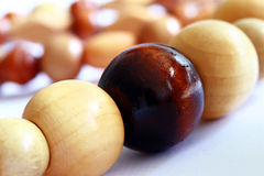 Retro beads Stock Images
