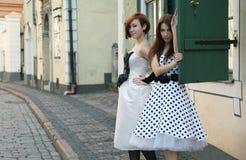 Retro beauty Stock Photography