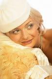 Retro beauty. Royalty Free Stock Photography