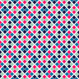 Retro beauty seamless pattern.  illustration Royalty Free Stock Photo