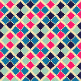 Retro beauty seamless pattern.  illustration Stock Photography