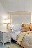 Retro bedroom Stock Photography