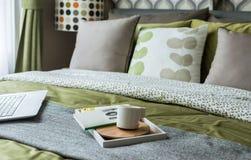Retro bedroom style Royalty Free Stock Image