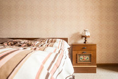 Retro bedroom Royalty Free Stock Images