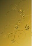 Retro Behang Royalty-vrije Stock Afbeeldingen