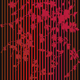 Retro Behang Royalty-vrije Stock Afbeelding