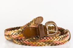 Retro belt. Old fashion in natural color Royalty Free Stock Photography