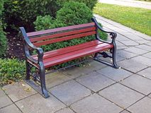 Retro bench Royalty Free Stock Photos