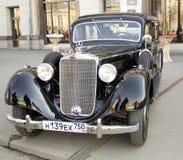 Retro benz di Mercedes dell'automobile Fotografia Stock