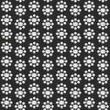 Retro bezszwowy tło z kwiatami Zdjęcia Stock