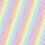 Retro bezszwowy wzór z lampasami Obrazy Royalty Free