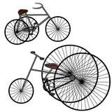 Retro bici d'annata Fotografia Stock