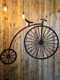 Retro bicicletta Immagine Stock