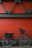 Retro bicicletta Fotografia Stock Libera da Diritti