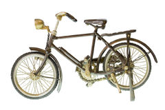 Retro bicicletta Fotografie Stock Libere da Diritti