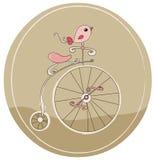 Retro bicicletta Immagini Stock