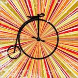 Retro bicicletta Immagine Stock Libera da Diritti