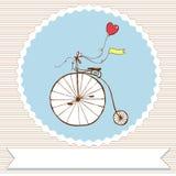 Retro bicicletta Immagini Stock Libere da Diritti