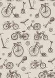 Retro biciclette Fotografie Stock