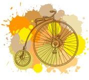 Retro bicycle Stock Image