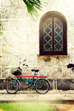 Retro bicycle Stock Images