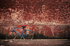 Retro bicycle Royalty Free Stock Photo