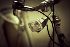Retro bicycle ,artistic toned Royalty Free Stock Photos