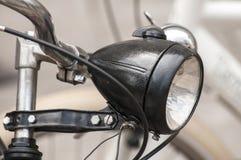 Retro bicycle headlight Stock Images