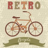 Retro bicycle Stock Photos