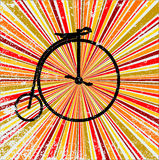 Retro Bicycle Royalty Free Stock Image