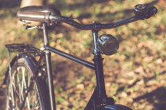 Retro Bicycle with vintage overlay Royalty Free Stock Photo