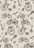 Retro bicycles Stock Photos