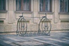 Retro Bicycles Royalty Free Stock Photos