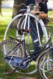 Retro bicycles Stock Images
