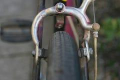 Retro bicykl przerwy obraz royalty free