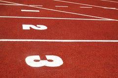 retro bieg sporta ślad Zdjęcie Royalty Free