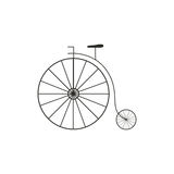 Retro Big Wheel Bycicle Royalty Free Stock Photo
