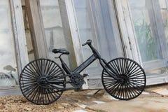 Retro bike stock image