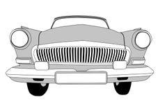 retro bil vektor illustrationer