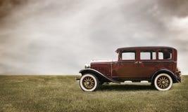 Retro bil. Arkivbilder