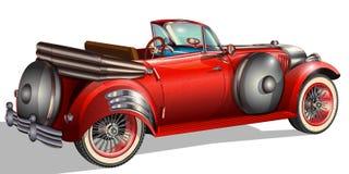 retro bil arkivbild